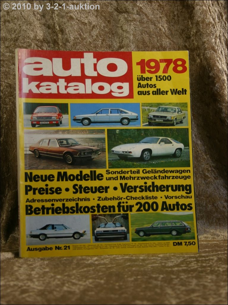 auto katalog autokatalog ams 1978 nr 21 ebay. Black Bedroom Furniture Sets. Home Design Ideas