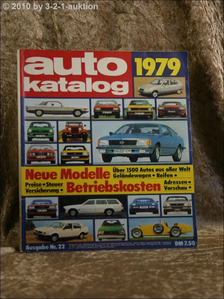 auto katalog autokatalog ams 1979 nr 22 ebay. Black Bedroom Furniture Sets. Home Design Ideas