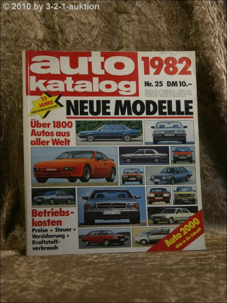 auto katalog autokatalog ams 1982 nr 25 ebay. Black Bedroom Furniture Sets. Home Design Ideas