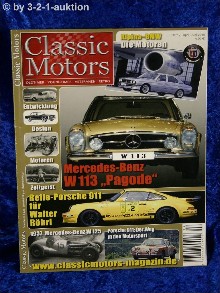 Classic Motors 2 10 Db Pagode Alpina Motoren Porsche 911