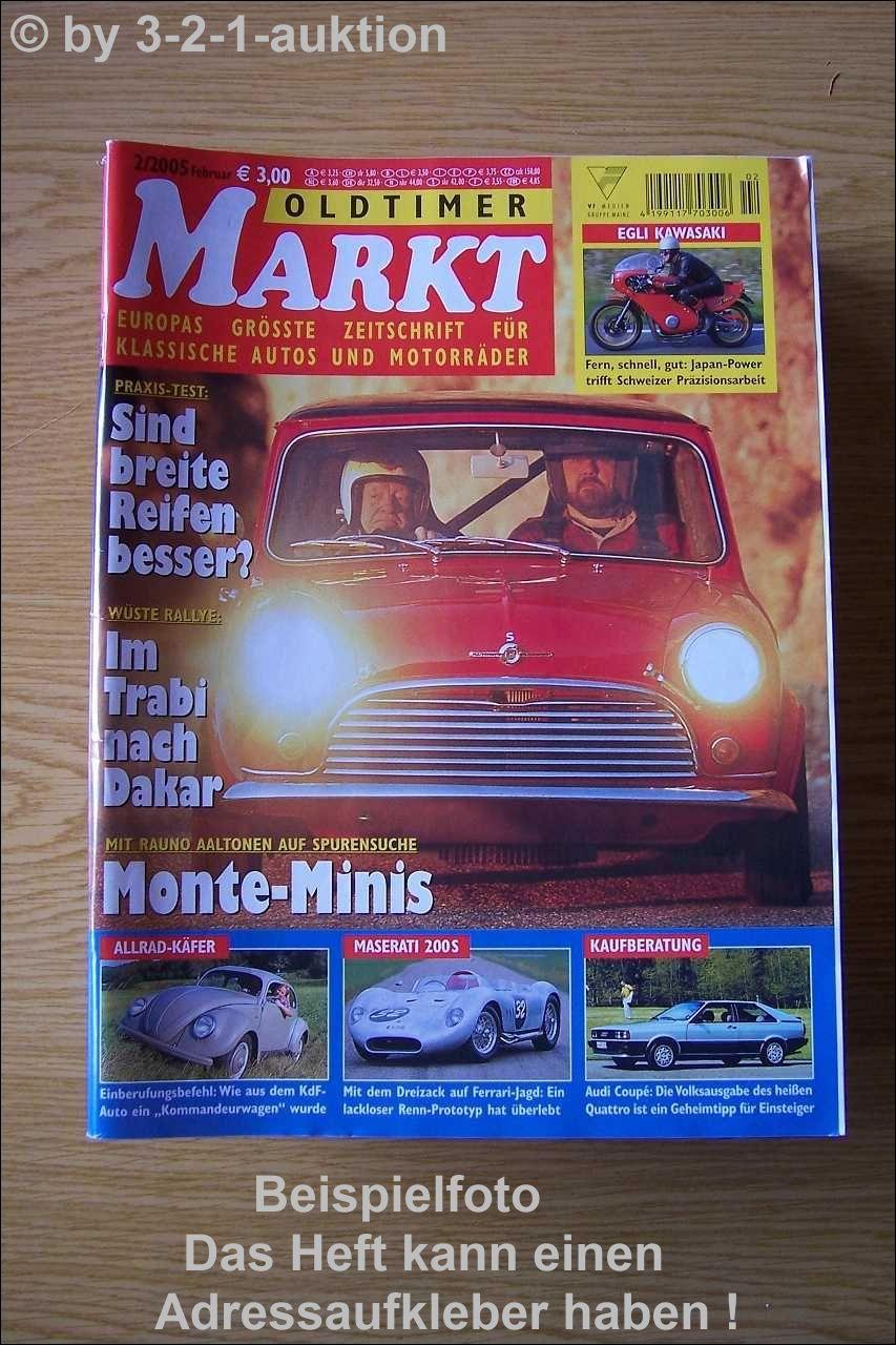 oldtimer markt 2 05 audi coupe bsa opel gt mini ford t ebay. Black Bedroom Furniture Sets. Home Design Ideas