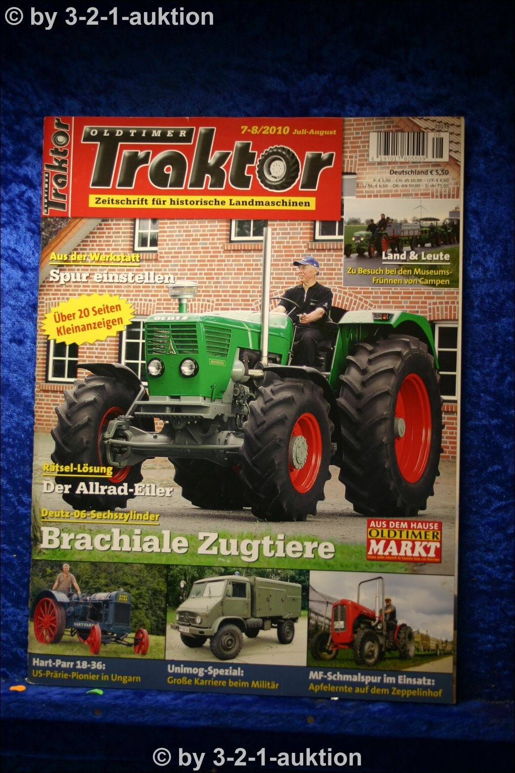oldtimer traktor 7 8 10 deutz 06 sechszylinder milit r. Black Bedroom Furniture Sets. Home Design Ideas