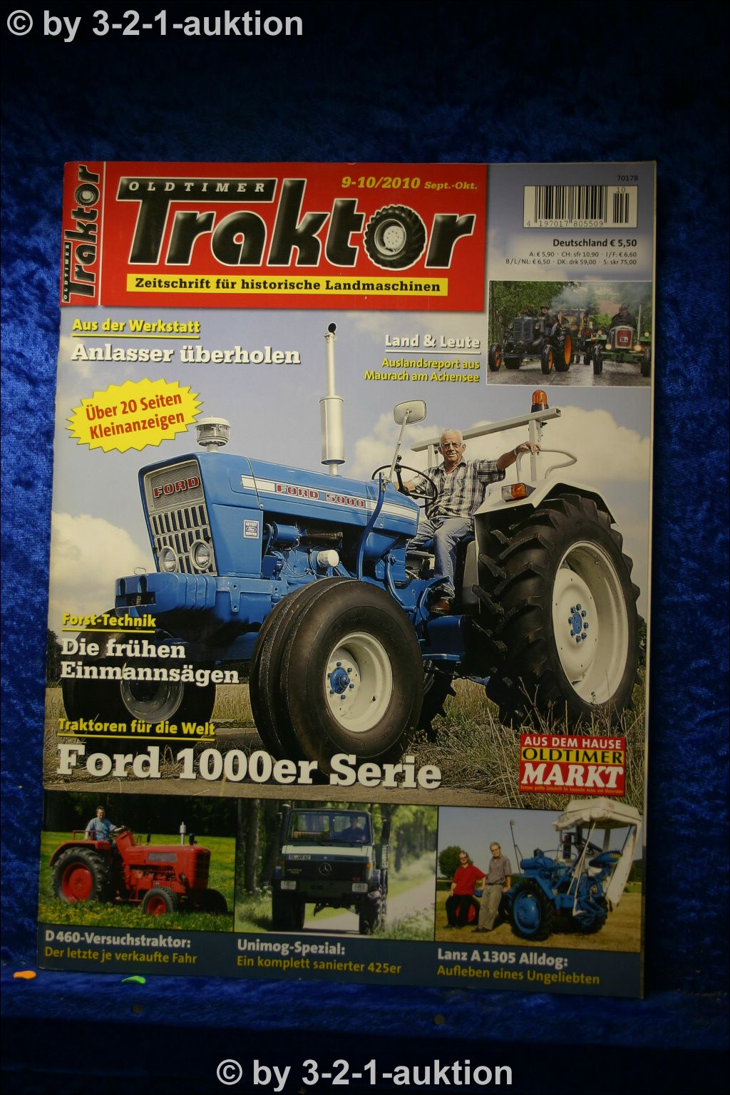oldtimer traktor 9 10 10 ford 4000 6y unimog 425 u 1500. Black Bedroom Furniture Sets. Home Design Ideas