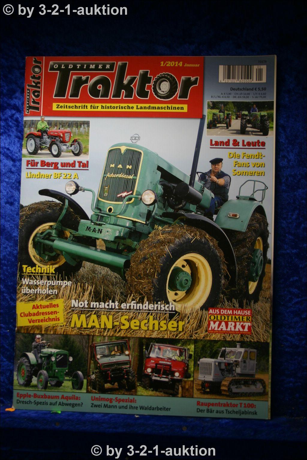 oldtimer traktor 1 14 man sechszylinder lindner bf 22 a. Black Bedroom Furniture Sets. Home Design Ideas
