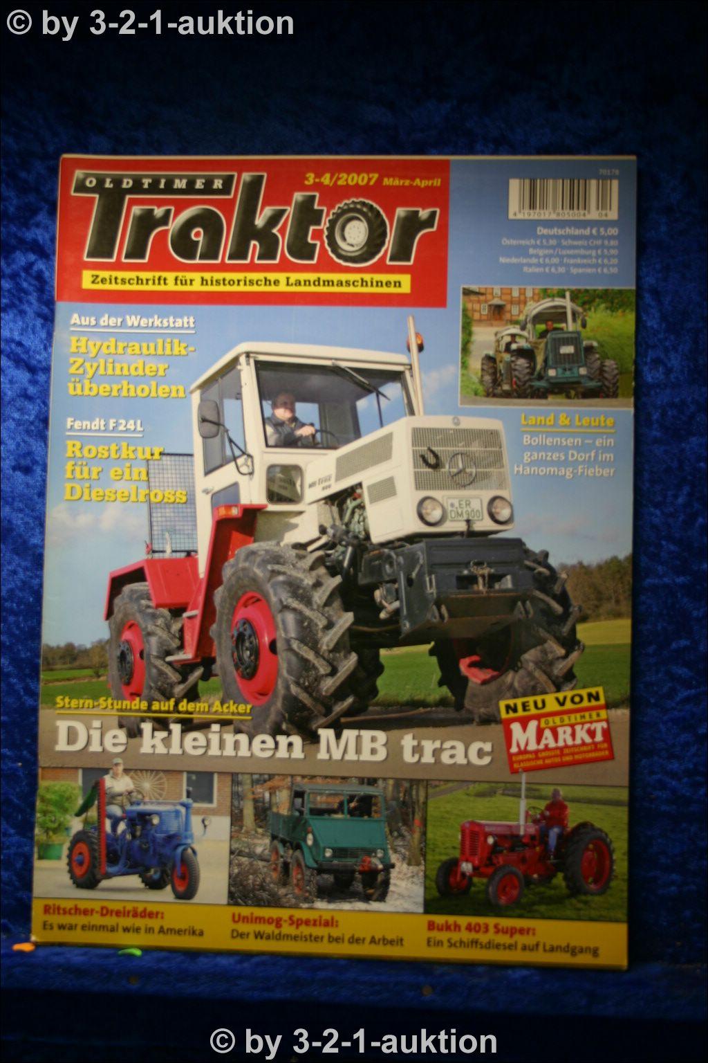oldtimer traktor 3 4 07 mb trac fendt f24l dieselross bukh. Black Bedroom Furniture Sets. Home Design Ideas