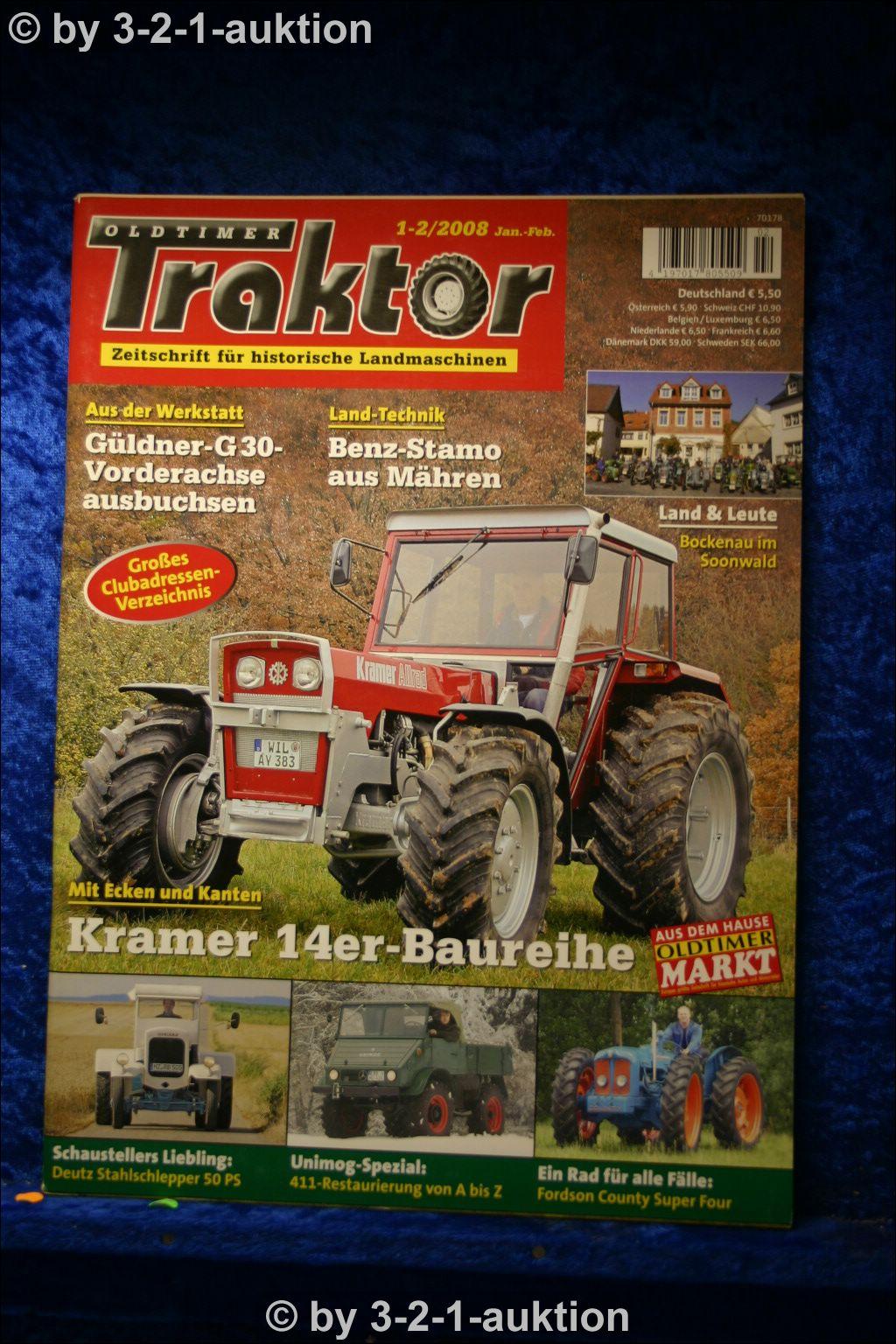 oldtimer traktor 1 2 08 kramer 314 414 514 714 814 deutz. Black Bedroom Furniture Sets. Home Design Ideas