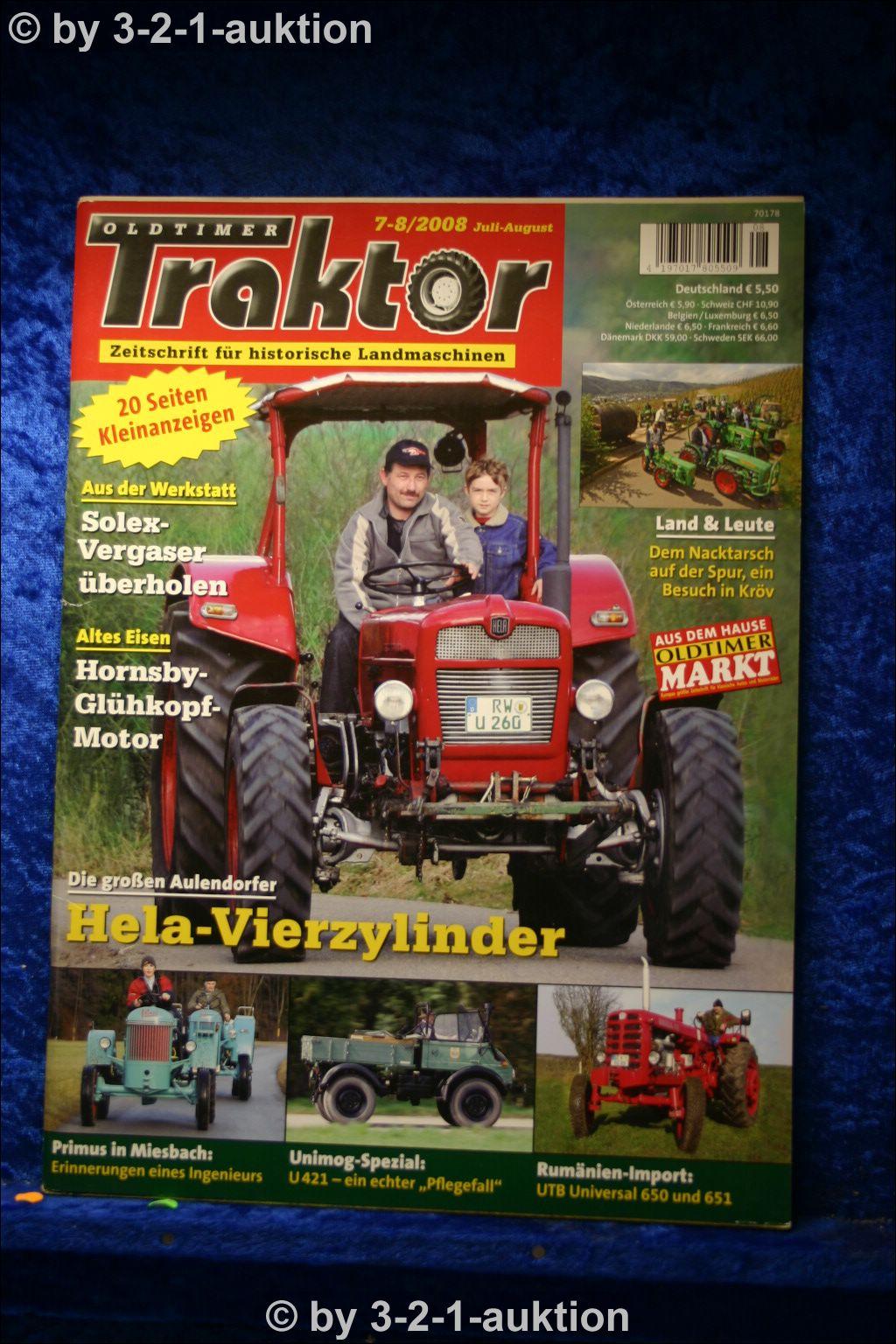 oldtimer traktor 7 8 08 hela d 254 260 unimog 421 primus. Black Bedroom Furniture Sets. Home Design Ideas