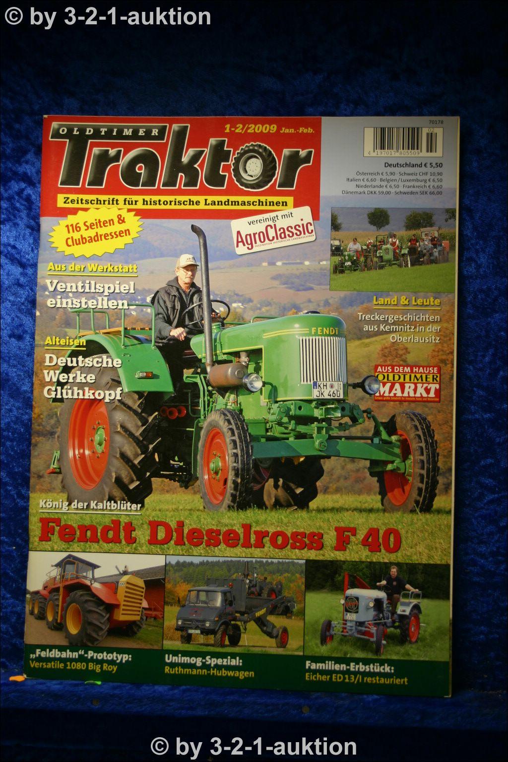 oldtimer traktor 1 2 09 fendt dieselross f 40 eicher ed. Black Bedroom Furniture Sets. Home Design Ideas