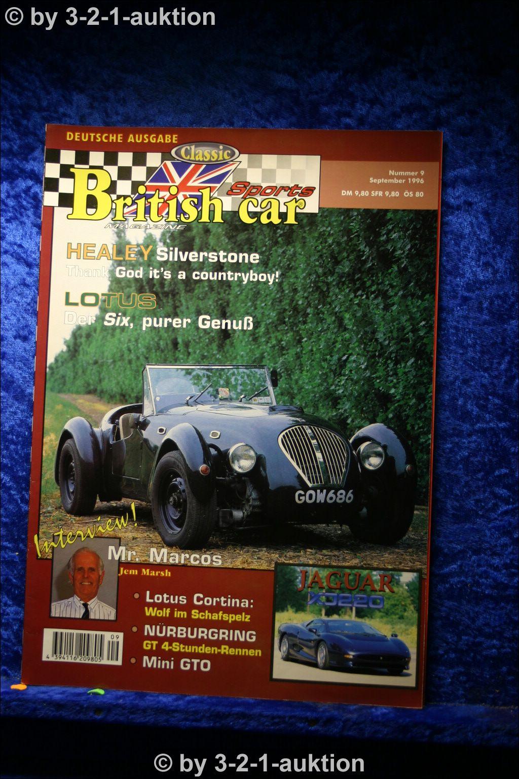 british classic sports car nr 9 1996 deutsch lotus six. Black Bedroom Furniture Sets. Home Design Ideas